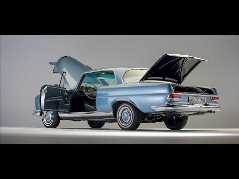 Restored Mercedes-Benz 1966 250SE W111