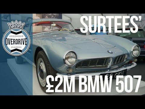 Surtees' rare BMW 507 to sell for £2M?