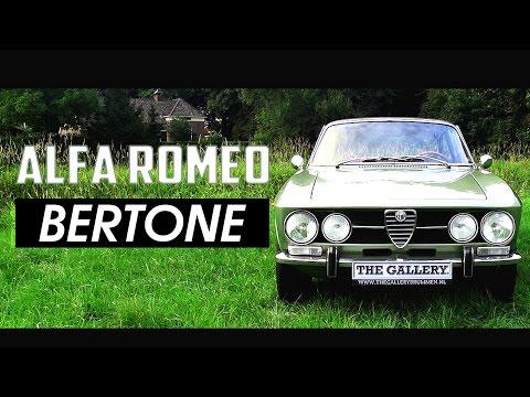 ALFA ROMEO GTV 1750 Bertone Coupé 1970 - Test drive in top gear - Engine sound   SCC TV
