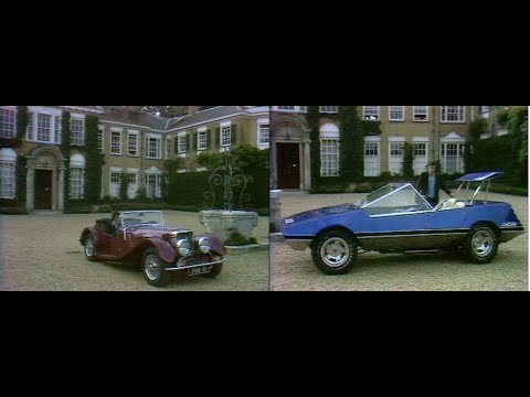 Vintage Car review | Panther sports cars | The Lazer | Drive In | 1974