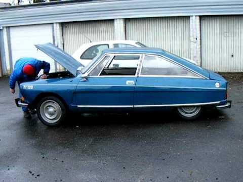 Citroën M35 nr. 122 Blue Delta runs again after more than 25 years!