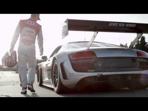 Classic track vs Audi R8 LSM - The Red Bull Terramar Race
