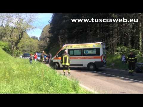 Mille Miglia - Incidente sulla Cimina - Alexander e Konstantin Sixt