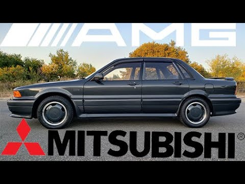 Is this the Rarest AMG car ever made? MITSUBISHI GALANT AMG from Japan! Craziest Car Collaboration!?