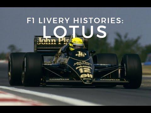 F1 Livery Histories: LOTUS