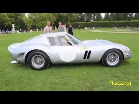 The Ferrari 250 GTO (4153GT) Silver, start up and drive scene!!