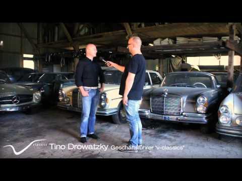 v-classics findet umfangreiche Mercedes-Benz Oldtimer Sammlung