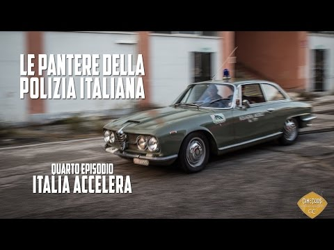 Le Pantere della Polizia Italiana: Quarto Episodio  Italia accelera (Alfa Romeo - 2600) ENG/NL SUBS