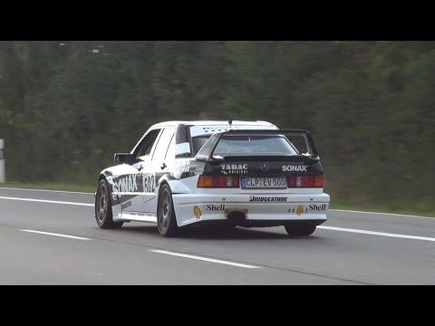 Mercedes-Benz 190E 2.5 16V EVO II - In action on the Nürburgring!