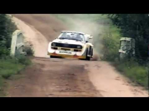 INSANE Audi Quattro Sport S1 1000 Lakes Group B Rally (Pure Engine Sound)