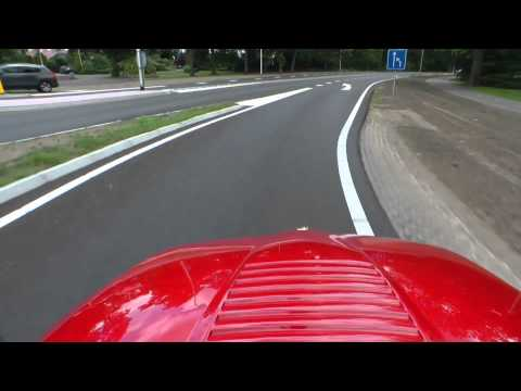 1990 Alfa Romeo SZ (Sprint Zagato | 'Il Mostro') Full HD action video with fantastic engine sounds!