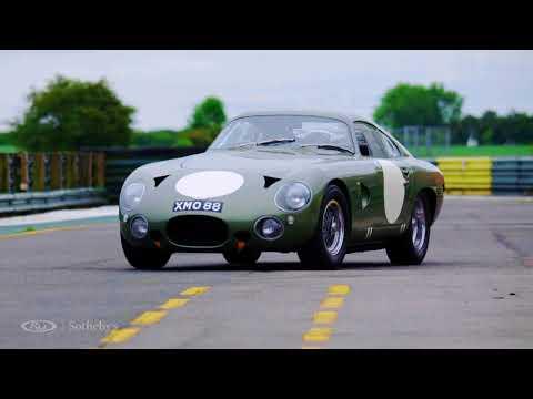 Monterey 2018: 1963 Aston Martin DP215 Grand Touring Competition Prototype