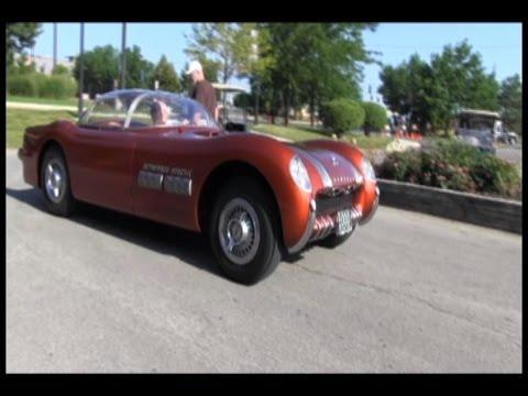1954 Pontiac Bonneville Special Concept Car is unloaded!
