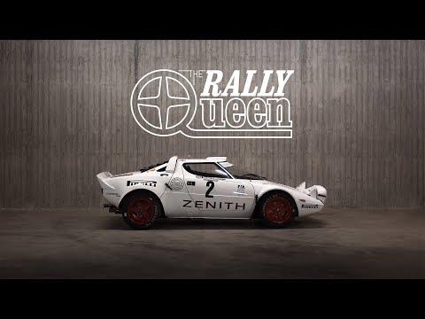1974 Lancia Stratos Group 4: Sliding The Rally Queen