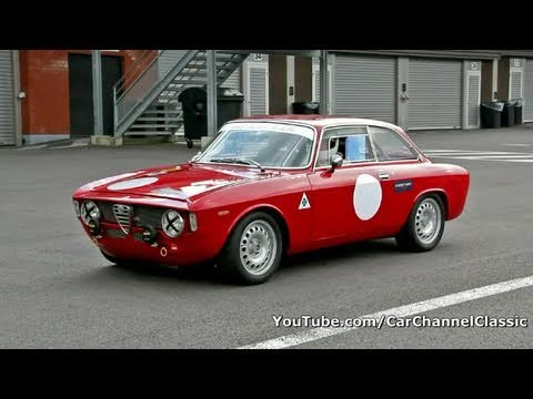 Alfa Romeo Giulia 1600 Sprint GT sound!! 1080p HD
