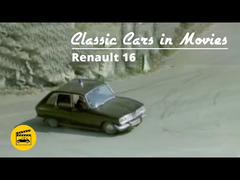 Classic Cars in Movies - Renault 16