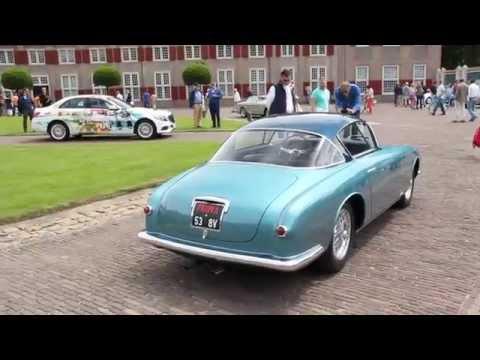 Stunningly beautiful Fiat 8V custom body at Concours Elegance Het Loo Apeldoorn