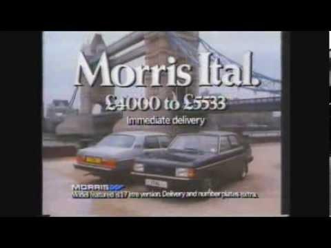 Morris Ital TV advert 1981