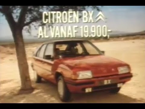 Citroën BX, de garage vindt ie maar niks 1984 STER Reclame