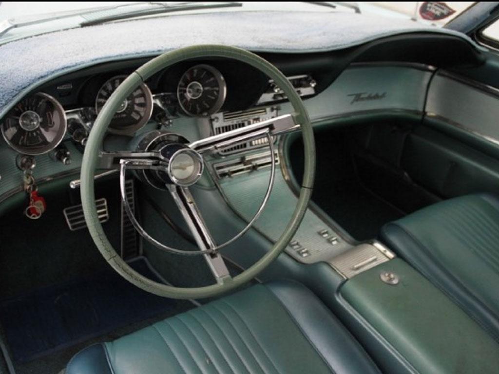 ford thunderbird 1965 interieur