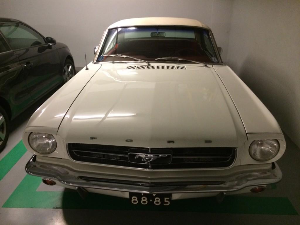 Mustang 1965 voorkant