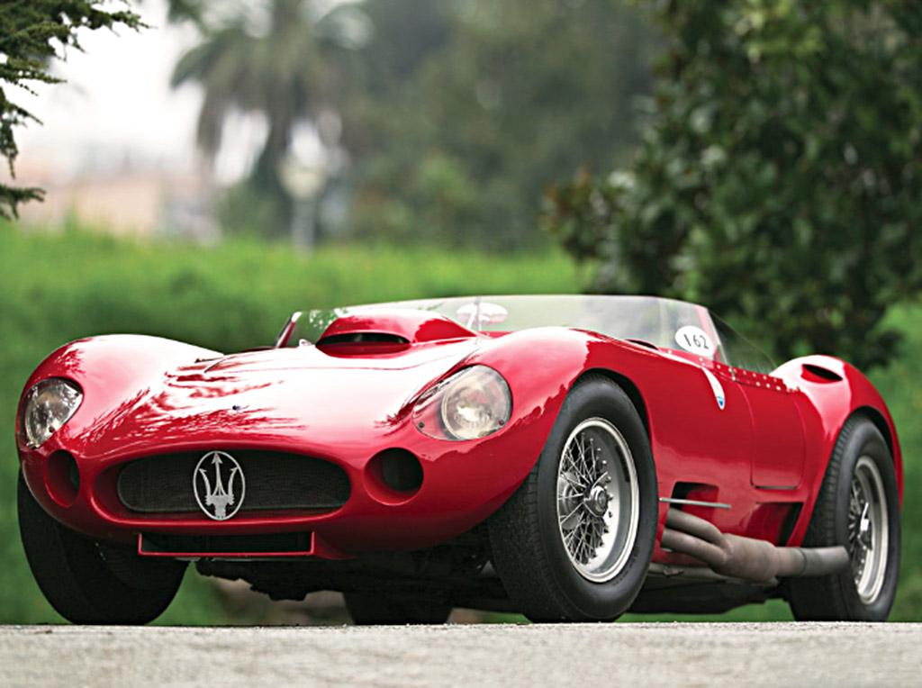 1956 Maserati 450S Fantuzzi Prototype