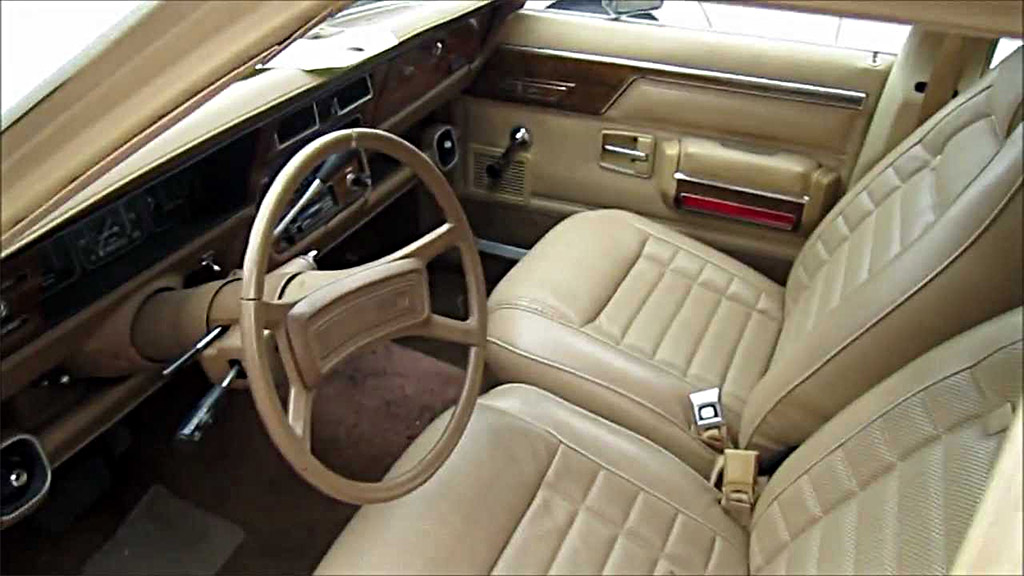 AMC Concord interieur