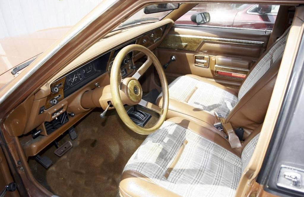 AMC Eagle interieur