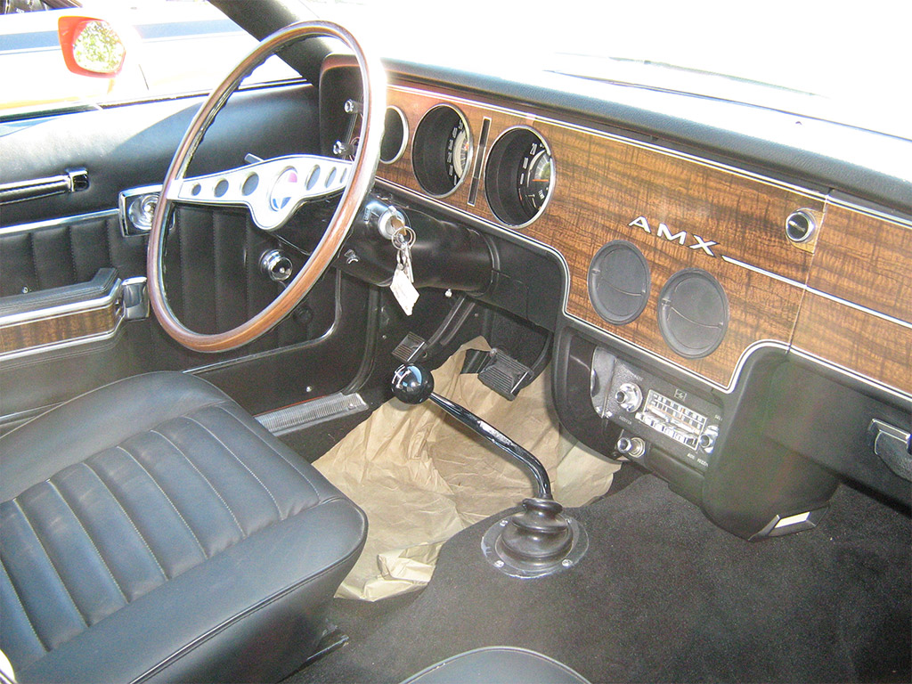 AMC Gremlin interieur