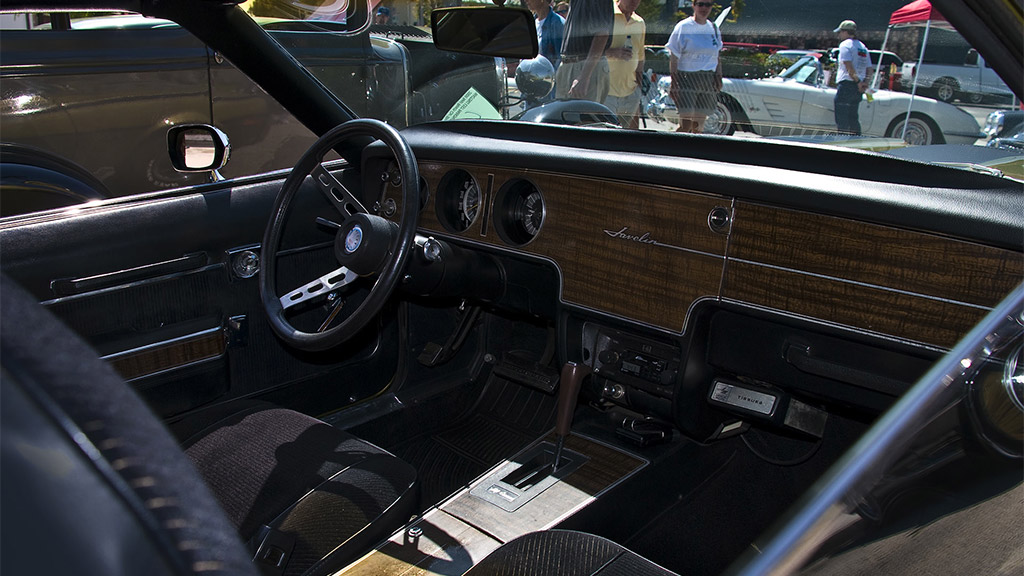 AMC Javelin interieur