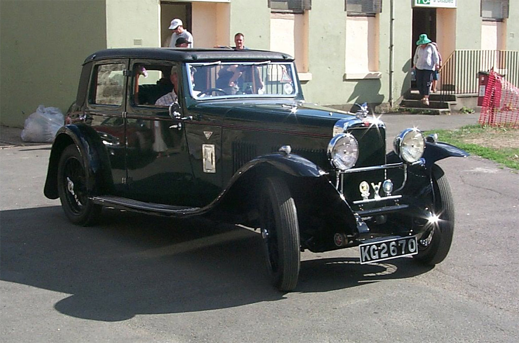 Alvis Silver Eagle 1930