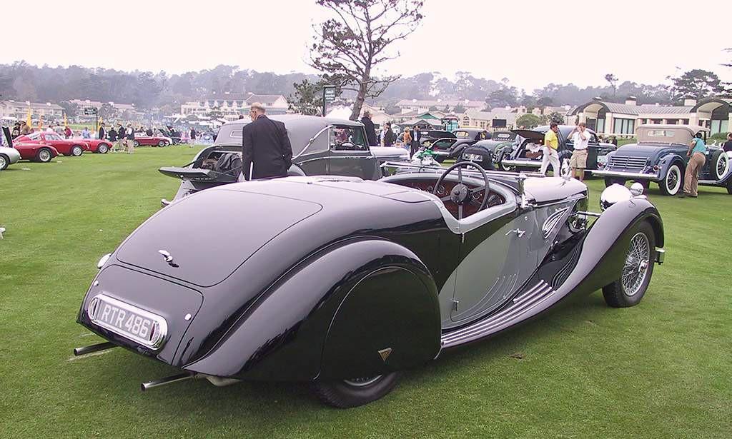 Alvis Speed 25 uit 1937