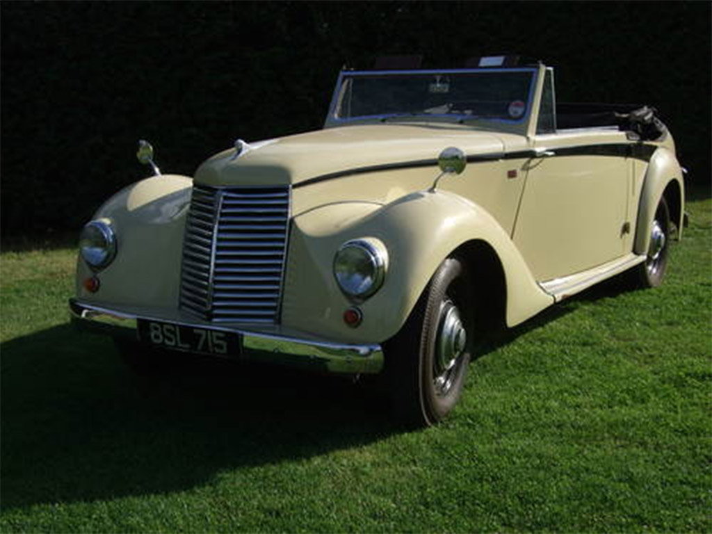 Armstrong Siddeley Hurricane drophead coupe 1952