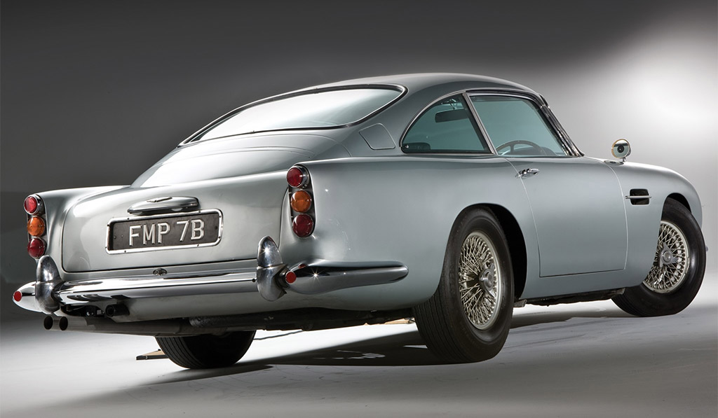 Aston Martin DB5 back