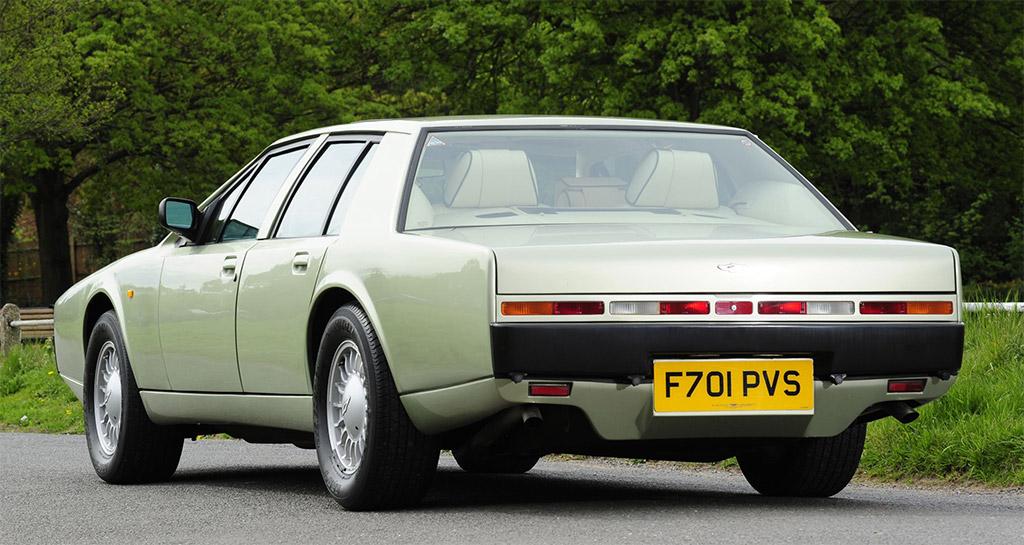 Aston Martin Lagonda achterkant