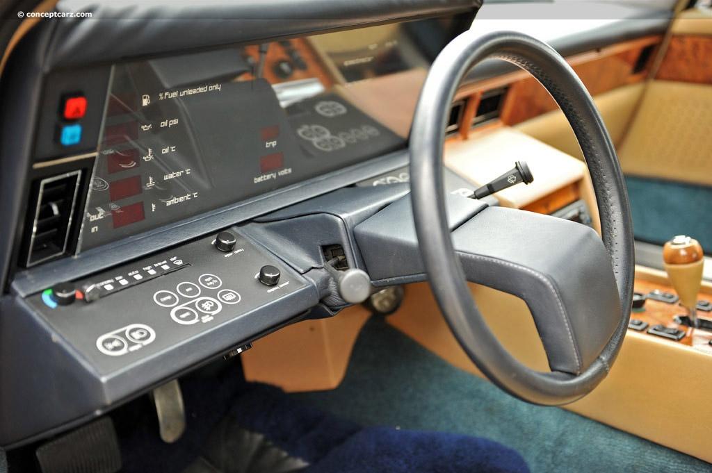 Aston Martin Lagonda dashboard