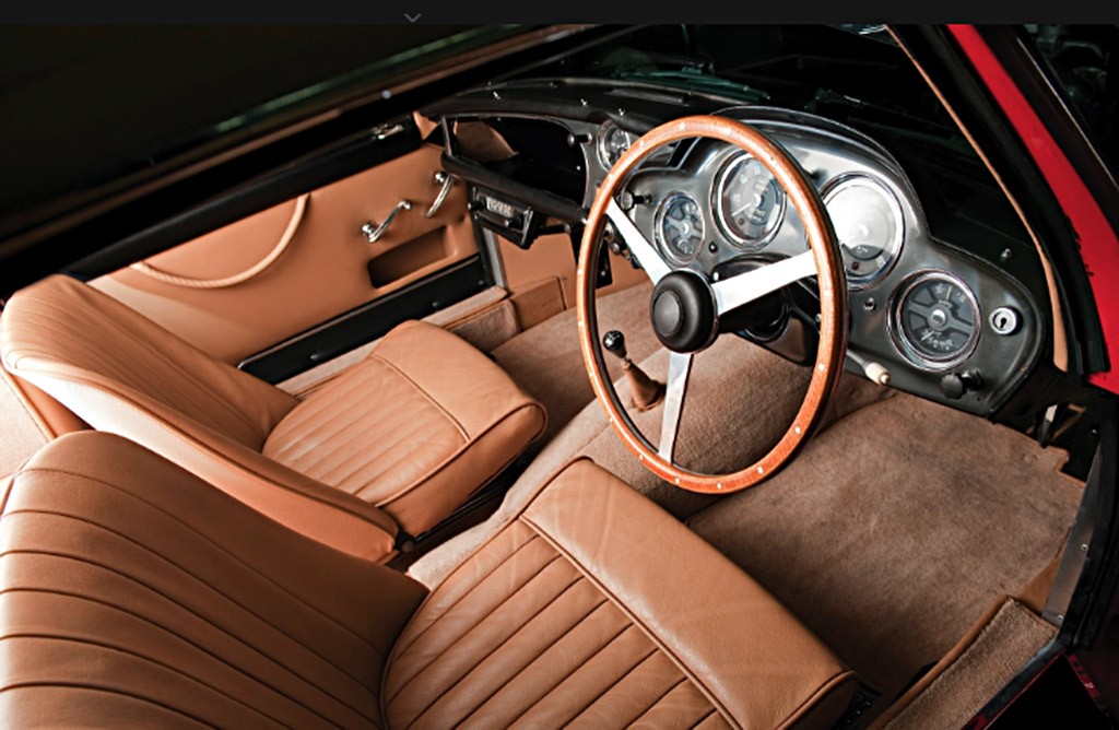 Aston Martin DB markIII 1959 drophead coupe interieur