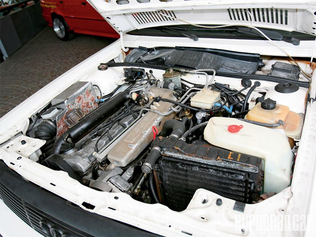 Audi Quattro Turbocharged 5 Liter motor