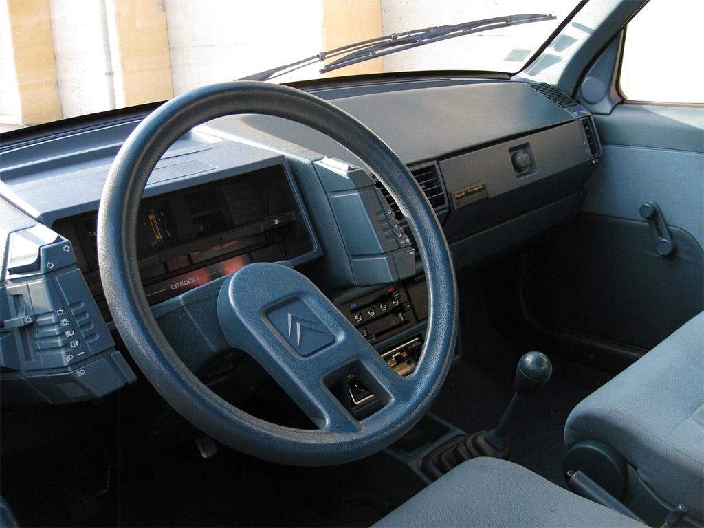 Citroen BX 14RE 1983 interieur