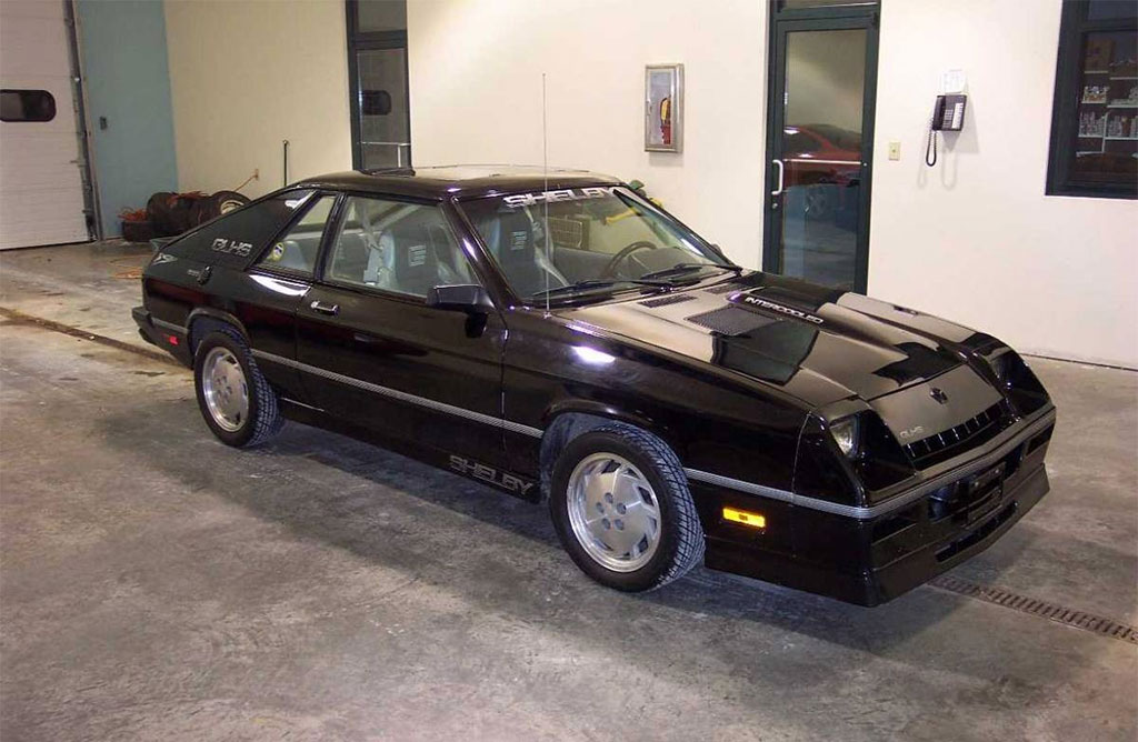 Dodge charger shelby glhs 1987