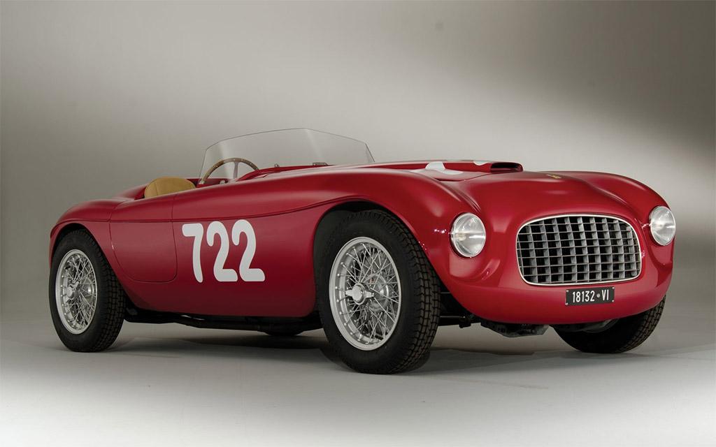 Ferrari 166 inter spyder 1948