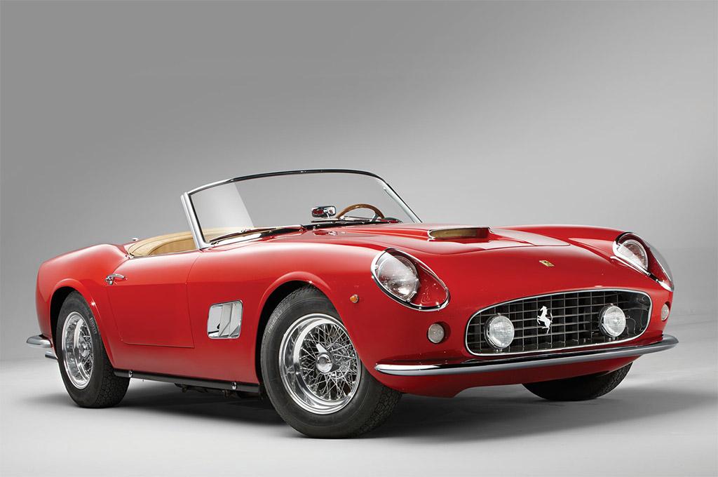 Ferrari 250 GT SWB California Spyder uit 1962