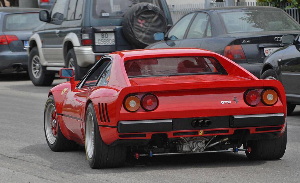Ferrari 288GTO achterzijde
