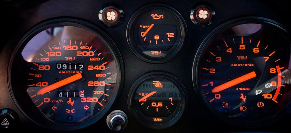 Ferrari 288gto klokken