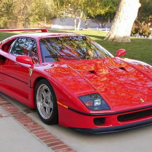 Ferrari F40 Italiaanse supercar jaren tachtig