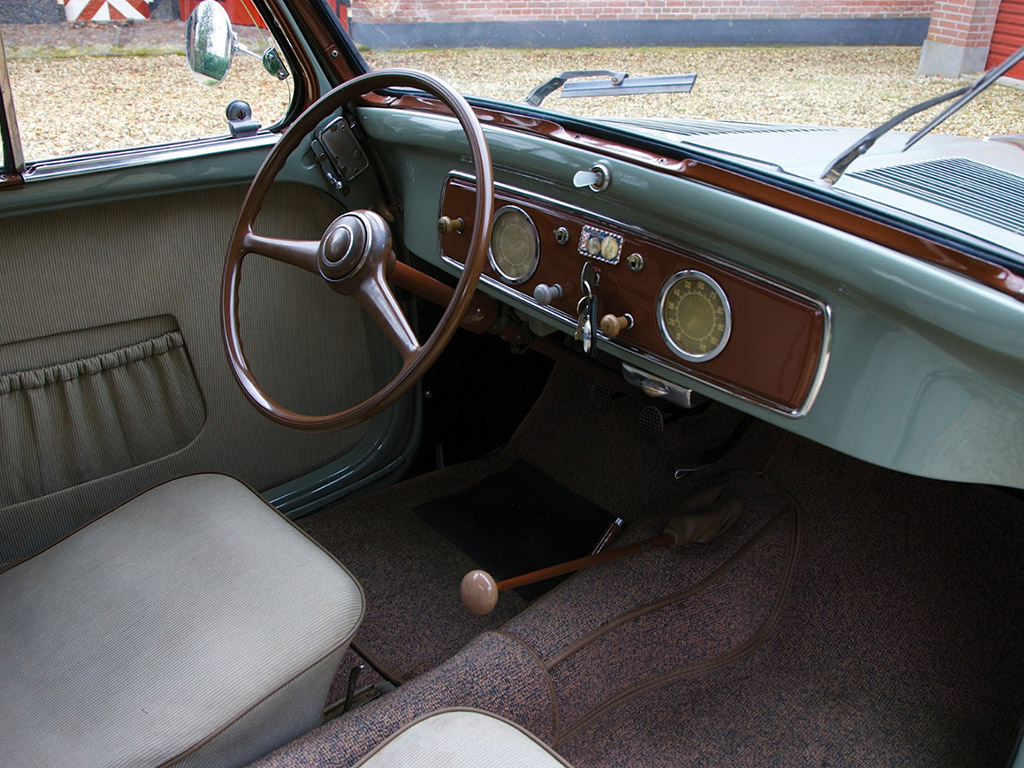 Fiat Topolino Interieur on 1955 Fiat 8v