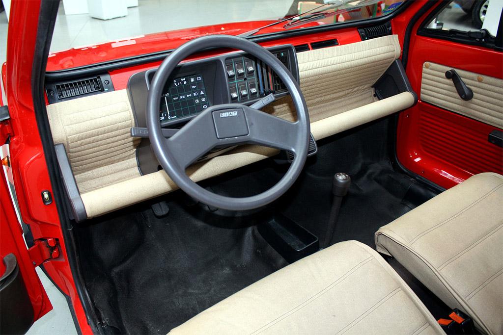 Fiat panda klassiekerweb for Interieur 1970