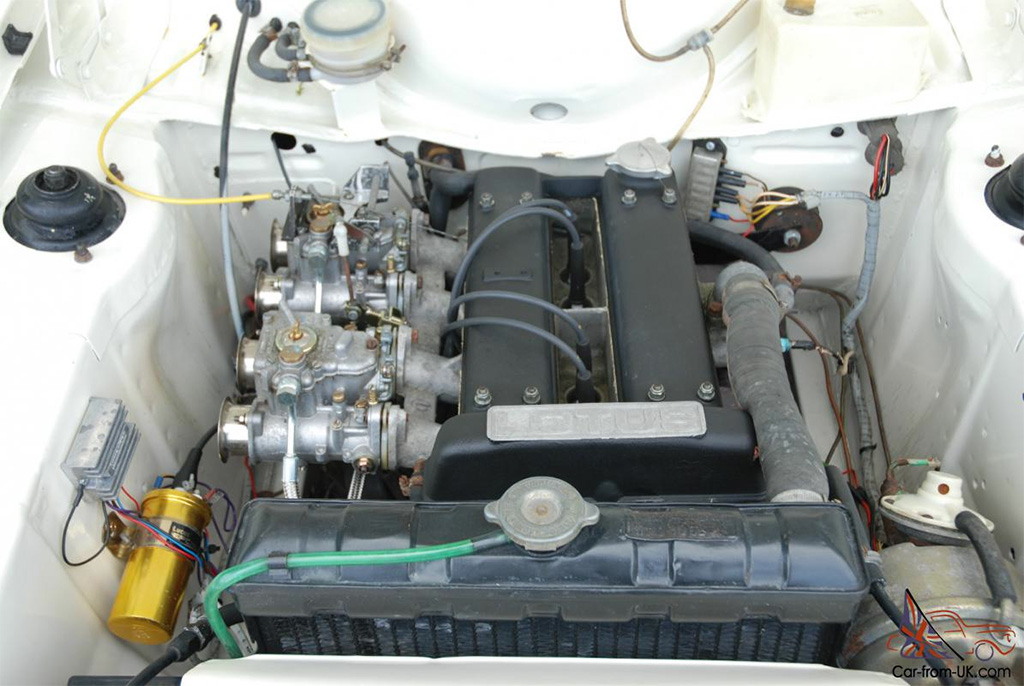 Ford Escort MK1 Lotus motor 1970