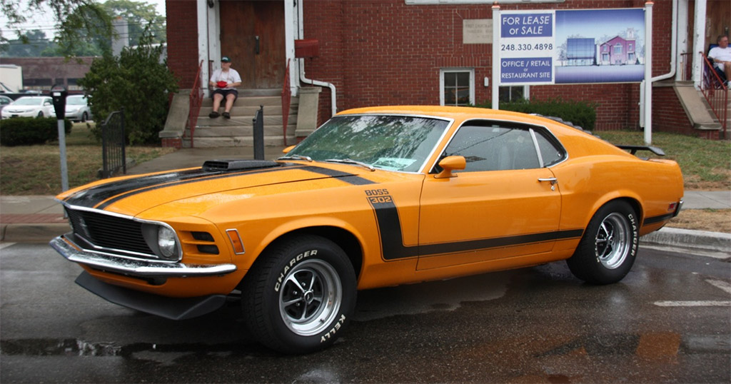 Ford Usa Mustang I Klassiekerweb