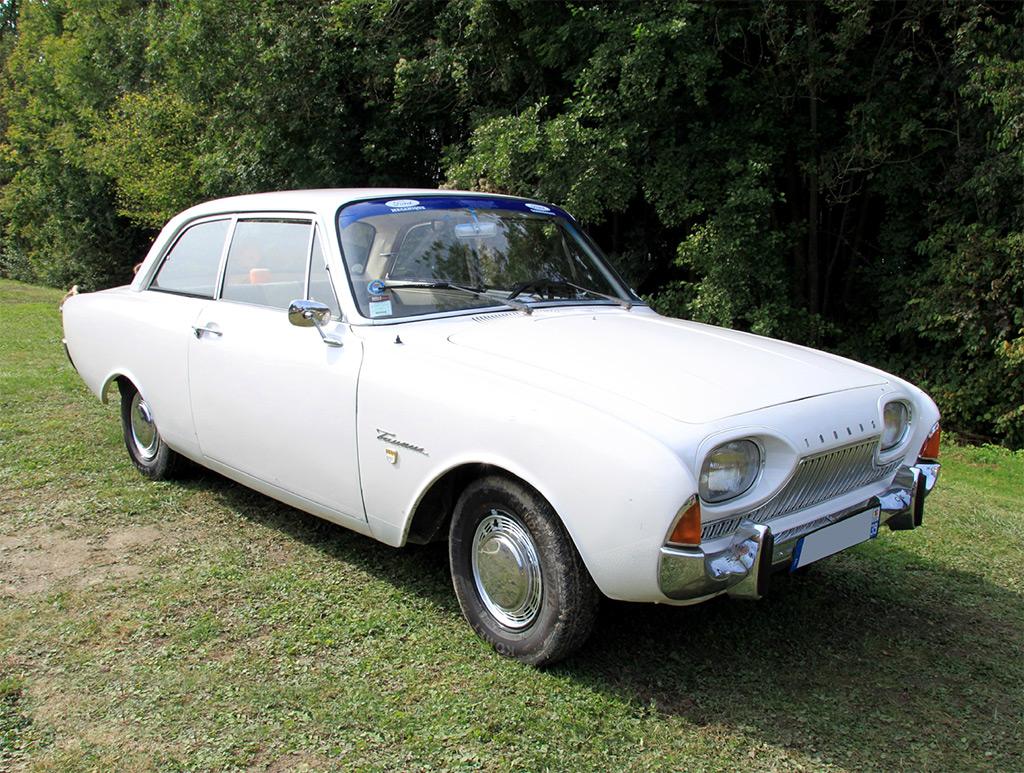 Ford Taunus 17M super berline 1962